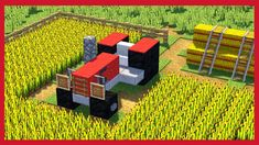 Minecraft: How to make a tractor – Minecraft – Hama Beads