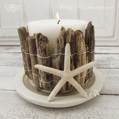 Driftwood Candle Holder Pictures, Photos, and Images for Facebook, Tumblr, Pinterest, and Twitter