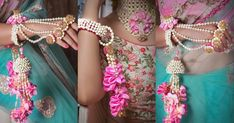 It has been a year where we saw many Bollywood couples getting hitched & wearing gorgeous outfits for the wedding celebrations. But, one common thing that we spotted on the B-town brides wasth. Flower Jewellery For Haldi, Rajputi Jewellery, Mehendi Outfits, Bollywood Couples, Wedding Looks, Modern Jewelry, Celebrity Weddings, Wedding Season, Wedding Jewelry