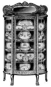 clipart de la vendimia de la cocina, del arte de clip en blanco y negro, imagen de muebles antiguos, cocina gráficos imprimibles, página del catálogo de edad, el gabinete de China antigua