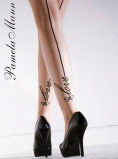 693e4186ea7 Pamela Mann Love Seam Tights - Pamela Mann - Alex Blake - The Online Hosiery  Store