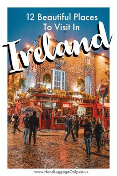 12 Beautiful Places To Visit In There's absolutely no shortage of stunning places to visit in Ireland; a fact which has will no doubt have seen the Emerald Isle climb atop your travel-whish list. Yes, it might rain a little in Ireland, Travel Advice, Travel Guides, Travel Tips, Travel Info, Budget Travel, Bus Travel, Travel Trailers, Travel Deals, Paris Travel