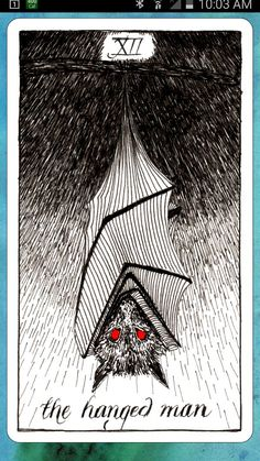 #tarotaffirmation ~ I let go and allow things to just BE. ~ The Hanged Man