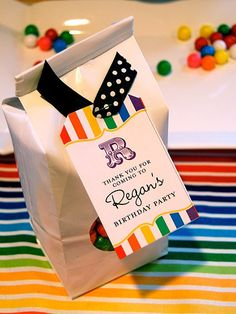 Real Parties: Rainbow Birthday Party - The Genius of Online Shopping