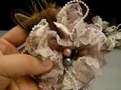 I made these flowers and had a blast making them..... Love the lace look!!! Thanks for watching!!!  Subscribe and visit our blog- www.heirloomanthology.blogspot.com!!!!     Visit Scrapstress' Channel for the tutorial I followed!!! Thanks Rina!!!    Channel Link: http://www.youtube.com/user/scrapstress  Video Link: http://youtu.be/Yfk53HLgsl0