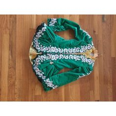 Stunning Emerald Green And Gold Celtic Couture - Celtic Couture Irish Dance Dress