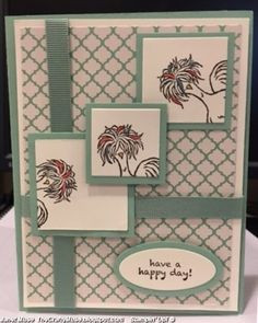 Sale-a-bration is coming January 4, 2017. Paisleys and Petals Paper and Retiring Ribbon are the base of the card and Hey, Chick SAB are the stamps.