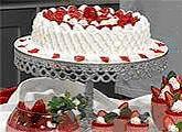 Isamara Amâncio - bolo de morango - dica gel de brilho de morango.