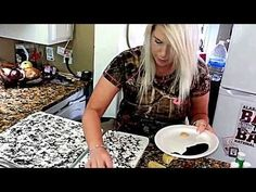 HOW TO MAKE COUNTERTOPS LOOK LIKE GRANITE $25 STEP BY STEP NO SANDING - YouTube