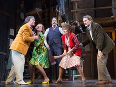 http://newyorktheater.me/2016/01/14/noises-off-on-broadway-review-pics-video/ Slamming doors and plates of sardines were all I could recall from the last time I saw Noises Off, and that's a good summary of the third Broadway production of Michael Frayn's slapstick backstage farce about an inept cast putting on a terrible play…