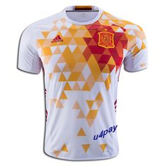 2016 UEFA Euro Spain Any Name Number Long Sleeve Away Soccer Jersey