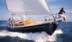 Maine-based Hinckley Yacht's SW70. Sailing..it's one of the reason's we live in Maine!