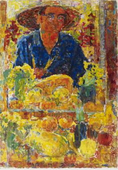 Self Portrait - Rafael Wardi , 1959 Finnish Oil on canvas Modern Art, Contemporary Art, Visual Map, Art Station, Art Academy, Postmodernism, Mellow Yellow, Vincent Van Gogh, Traditional Art