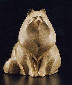 'Samantha' (1997) - Bronze sculpture by Rosetta