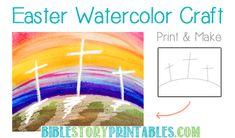 http://www.biblestoryprintables.com/BibleCraftsEasterWatercolor.html
