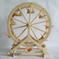 Ferris Wheel DIY on Pinterest | Ferris Wheels, Wooden Building Blocks ...