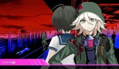 Komaeda as ultimate despair and appears in danganronpa another episode