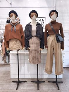 Really like korean fashion outfits 2886177814 Colorful Fashion, Cute Fashion, Retro Fashion, Korean Fashion Trends, Korea Fashion, December Outfits, Chic Outfits, Fashion Outfits, Fashion Ideas