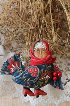 (105) Gallery.ru / Фото #11 - текстильные и бисерные броши-4 - Vladikana