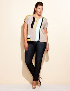 Cute Colorblock Zip Top: wish I could find it the link does not work : (