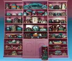 Impressive Majolica collection