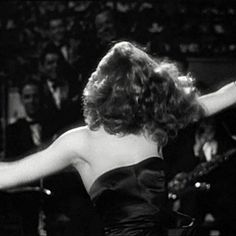 Rita Hayworth in Gilda | 23 Classic Hollywood GIFs That Are Better Than A Time Machine