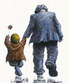 Its a Kind of Magic by Alexander Millar Norman Cornish, Good Night Friends, A Kind Of Magic, Art Addiction, Art For Art Sake, Contemporary Artists, Lovers Art, Art For Kids, Graphic Art