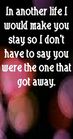 Katy Perry - The One That Got Away - song lyrics