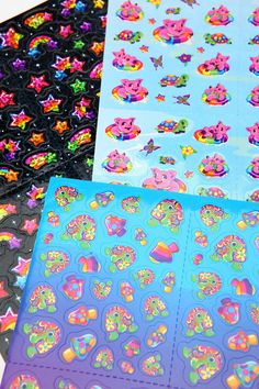 8cb00d1bb0cecf Lisa Frank Limited Edition Vintage Sticker Pack