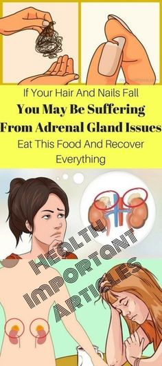 If Your Hair & Nails Fall, You Maybe Suffering From Adrenal Gland Issues. Than Eat This Food & Recover Everything!!!