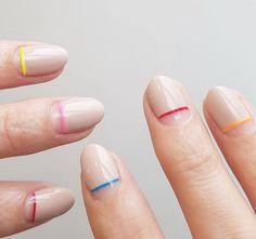 Stunning minimalist nails! #nails #nailart #manicure #minimal #minimalism #nailstagram