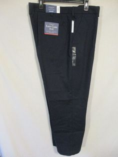 Dockers D2 Cotton Blnd Flat Front Solid Brown Straight Fit Khaki SR$50 NEW