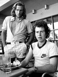 Björn Borg and John McEnroe