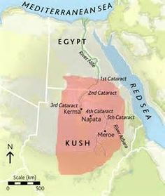 describe the relationship between nubia and egypt in ancient africa