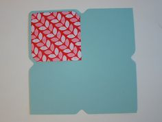 Punch Board Envelope Liner Tutorial