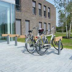 STREETLIFE R&R Bicycle Racks.  #StreetFurniture #UrbanDesign #BikeRack