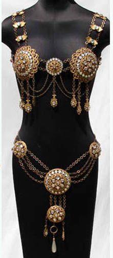 Vintage Fashion Guild : Fashion Timeline : 1910 To 1920. 1910s burlesque suit. Courtesy of poppysvintageclothing.com