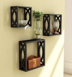 Image result for wall shelves