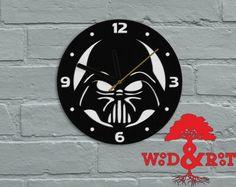 Darth Vader (Star Wars) wooden wall clock