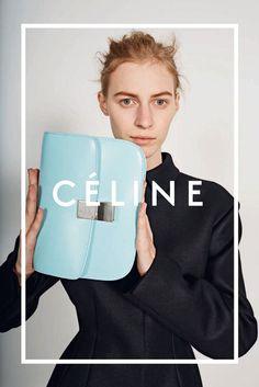 Julia Nobis by Juergen Teller, Summer 2014 Ad Campaign, Céline