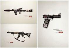 """""""Az információ lőszer""""  print hirdetés-sorozat, Juniper Park Guns, Park, Weapons Guns, Parks, Revolvers, Weapons, Rifles, Firearms"""