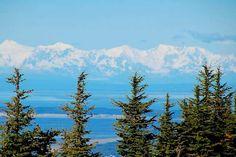 Hiking Flattop Mountain, Anchorage, Alaska