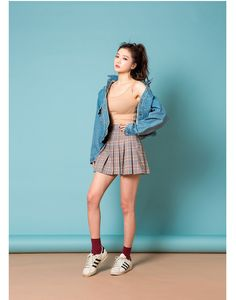 Let's go to the cloud denim JK | Korean Fashion #chuu