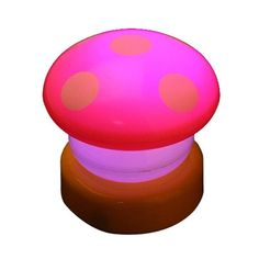 LED Colorful Mushroom Press Down Touch Lamp Night Light