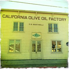 California Olive Oil Factory, circa 1899, Sonoma Valley