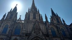 Bam! #gothic #art #cathedral #barcelona #spain #church #jueves #travelgram #instalike #nofilter #iglesia #gotico #stroll #flaneur #españa #catalonia #travelislife
