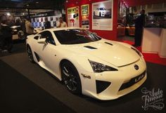 Lexus LFA using Auto Finesse detailing products