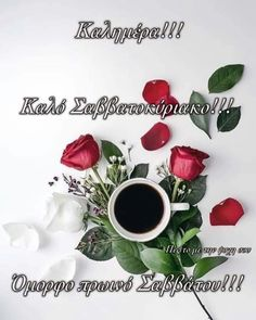 Good Night, Good Morning, Beautiful Pink Roses, Greek Quotes, Anastasia, Cross Stitch, Flowers, Photography, Tone Words