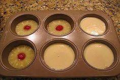Mini Pineapple Upside Down Cakes. Photo by foregetmenotak_12049446