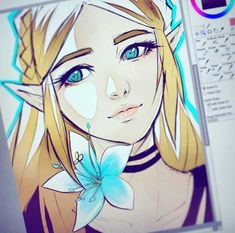 Evil Princess, Twilight Princess, Zelda Drawing, Princesa Zelda, I Need Friends, Evil Demons, Legend Of Zelda Breath, Detroit Become Human, Breath Of The Wild